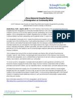 CSS NICU Press Release.doc