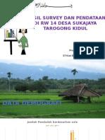Presentasi 0lah Data RW 14