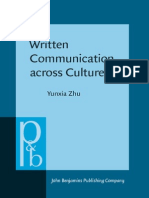 Written Communication Across Cultures- A Sociocognitive Perspective on Business Genres