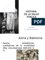1. Historia de La Salud Pública