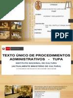 NORMAS... TUPA del MINISTERIO DE CULTURA JORGE.pptx