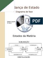 Diagrama de Fase - Estados Da Matéria
