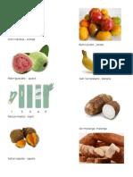 Frutas y Verduras en Qeqchi