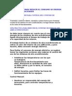 Guía Practica Para Reducir El Consumo de Energía Del Aire Acondicionado