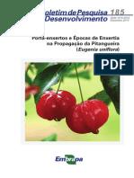 Pitanga - Eugenia Uniflora - Enxertia - Boletim185web