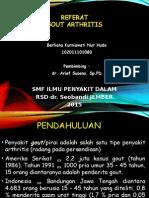 Referat Gout Artritis