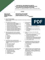 Soal UAS Pengantar Ilmu Ekonomi (PIE) 2015
