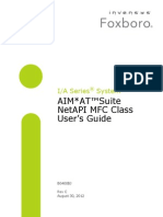 AIM*AT™Suite NetAPI MFC Class User's Guide