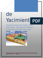 Desplazamiento de Fluidos en El Reservorio, Principios de Welge y Ecuaciones de Flujo Fraccional (VASCONEZGIOVANNY)