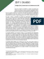 DPI Doctrina LEY DE CONSUMIDORES por Novick Marcela