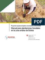 Manual Para Plantaciones Forestales Zona Andina
