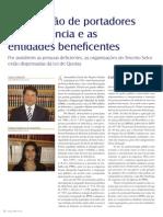 A Contratação de Portadores de Deficiência e as Entidades Beneficentes
