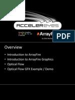 Array Fire GPU programming in C++