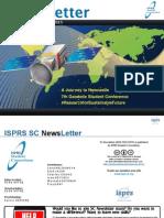 ISPRS Student Consortium Newsletter Vol. 9 No. 1 June 2015