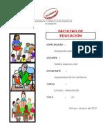 Monografia de Tutoria Educativa