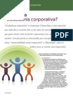 Ciudadania Corporativa