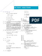 Solution of Mock Test for Gate Mechanical Exam