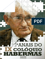 eBook Anais Ix Coloquio Habermas