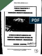 Ferrocarril Hcyo Hvca Estudio de Impacto Ambiental