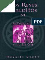 Los Reyes Malditos VI - La Flor de Lis y El Leon - Maurice Druon