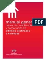 Manual Gral Para El Uso Mnto y Conservacion de Edificios de Viviendas