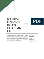 Sistema Financiero de Guatemala
