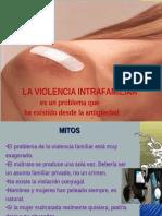 Violencia interfamiliar - capacitación