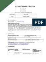 Course Handout IPC