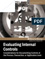 Evaluating Internal Control - Ernst & Young