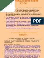 1.2 Generalidades Sobre Etica.