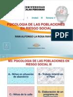 Psicología Humana Psicologia Poblaciones Riesgo Social Unidad i Sem05