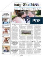 The Daily Tar Heel for July 2, 2015