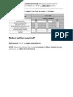 UNITEN External Shuttle Bus Timetable (Labour & Wesak Day 2015)