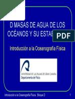 oceanografia masa de agua y su estabilidad