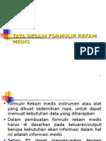 12_Tata Desain Formulir Rekam Medis
