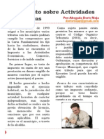 El Impuesto Sobre Actividades Económicas. DORIS R