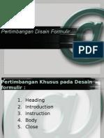 13_Pertimbangan Desain Formulir