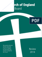 Church of England Pensions Board Review 2014