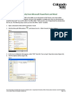 Save PDF From Office Apps