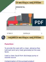 Failure of Mechanical Seal