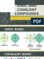 Properties of Ionic and Covalent Compounds