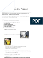 Managing Photo and X-ray Processor Equipment