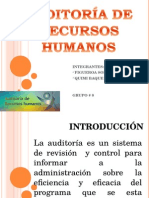 Auditoria Recursos Humanos