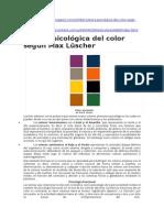 Teoria Del Color - PSICOLOGIA