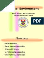 Thermal Environment