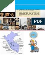 Actividad Minera en El Peru