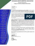 GA Sponsorship Letter