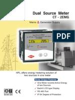Dual Source Meter CT2EMG