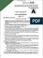 IES Obj_civil_ii 2009 Paper 2