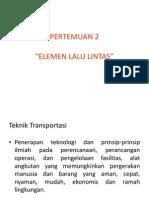2-Elemen Lalu Lintasg